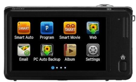 pantalla de la Samsung SH100