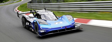Volkswagen detalla la vuelta récord de su ID.R eléctrico en Nürburgring, en la que consumió tan solo 24,7 kWh
