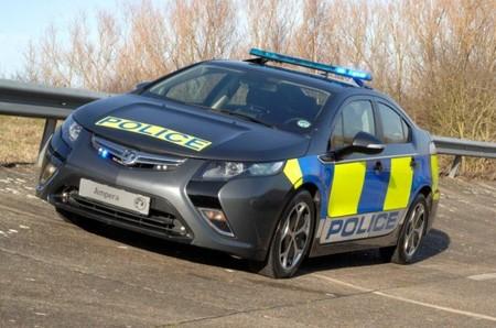 El Vauxhall Ampera se viste de uniforme para Scotland Yard