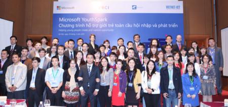 Microsoft invertirá 3 millones de dólares en el programa YouthSpark de Vietnam