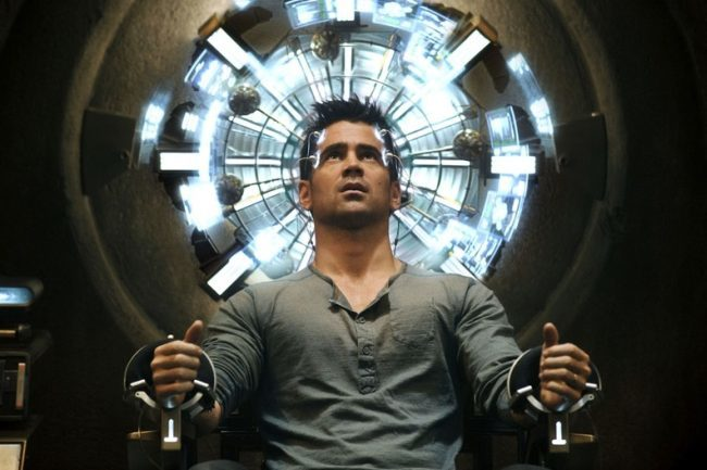 Colin Farrell en la nueva Desafío Total