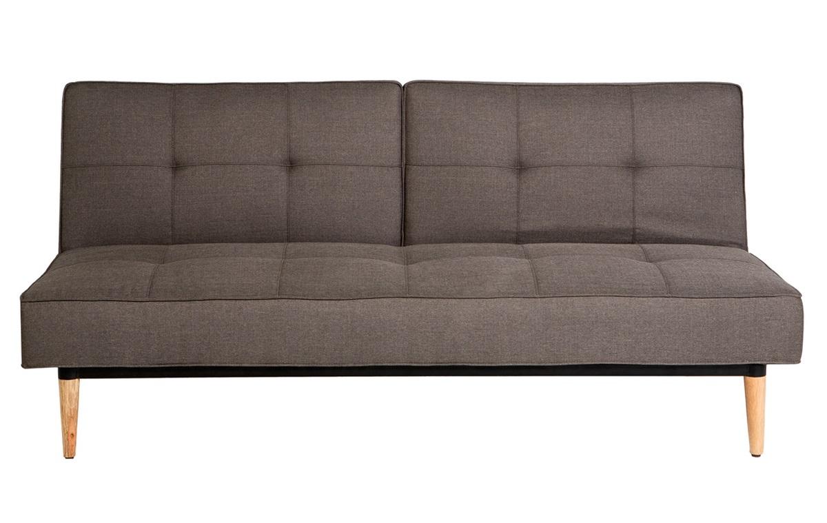 Sofá cama tapizado de 3 plazas Hudson