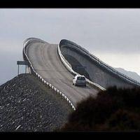 Una carretera noruega para valientes