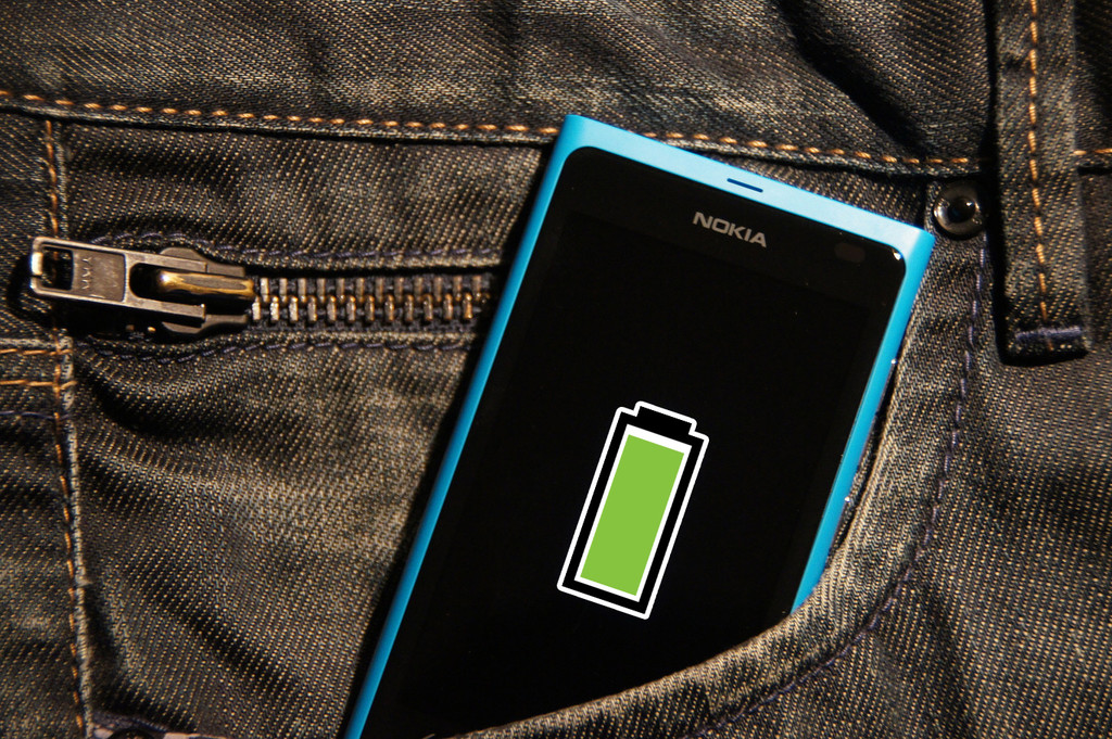How to configure a notification to know that the mobile phone's battery is fully charged