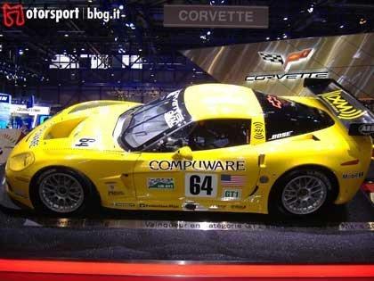 Presentación Chevrolet Corvette C6R en el salón de Ginebra