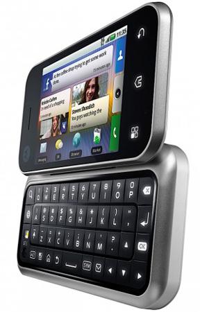 Motorola presenta Backflip y asegura la actualización a Android 2.1 de sus terminales