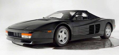 Este Ferrari Testarossa descapotable ha salido en tus sueños y en un anuncio con Michael Jackson, ¡y se vende!