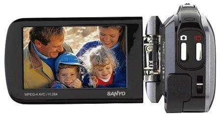 Sanyo Xacti GH4, la cámara de vídeo más social