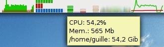 Monitoriza y controla visualmente tu sistema desde el panel de Gnome