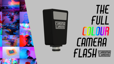 'Chroma Chrono', un flash multicolor programable para dar un toque especial a nuestras fotos busca financiación en Kickstarter