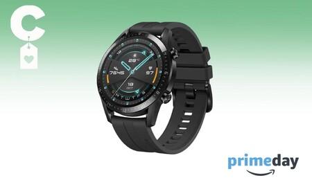 Este reloj deportivo de Huawei tiene una autonomía brutal y hoy está rebajadísimo en el Prime Day: Watch GT2 Sport por 102 euros