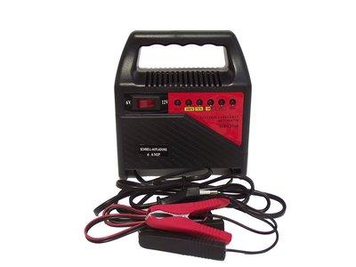 Cargador de batería para coche a 6 y 12 voltios Filmer 36198  por 18 euros en Amazon
