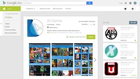 Google Play finalmente estrena su nueva interfaz en escritorio