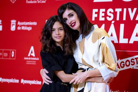 Paz Vega y su hija, Ava Salazar, acaparan todas las miradas en la tercera noche del Festival de Cine de Málaga 2020