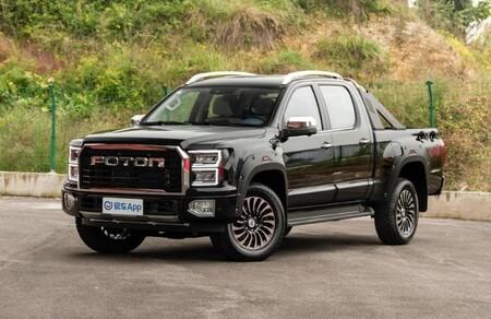 Así es Foton, la pick-up china que se parece muy descaradamente a la Ford F-150 Raptor