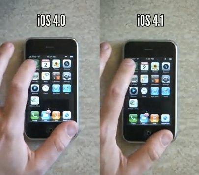 iOS 4.1 mejora notablemente el rendimiento del iPhone 3G