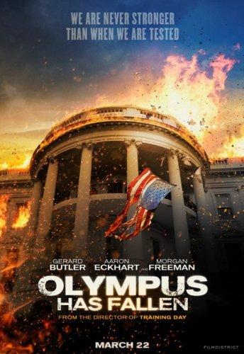 El primer cartel de Objetivo: La Casa Blanca (Olympus Has Fallen)