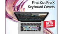 Nuevo Final Cut Pro X Keyboard Cover de KBCovers