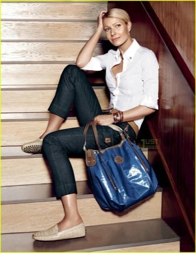Más imágenes de Gwyneth Paltrow para Tod's