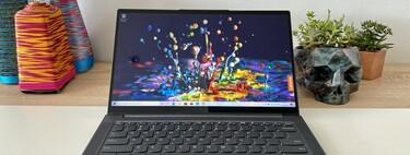 Lenovo Yoga Slim 7, la hemos probado: toda la potencia de AMD Ryzen 7 4800U en la candidata a mejor ultrabook con relación precio-calidad