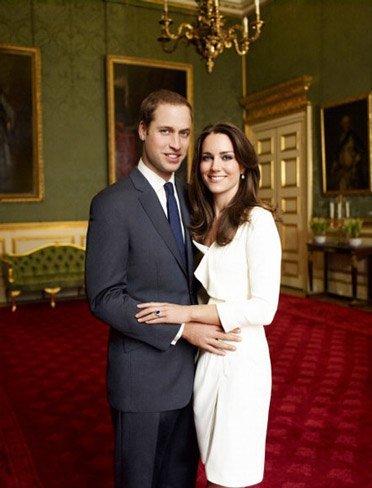 Primeras normas de protocolo para los invitados a la boda del príncipe Guillermo y Catherine Middleton