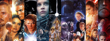 'Star Wars': in what order should it be seen all the films and series of the saga