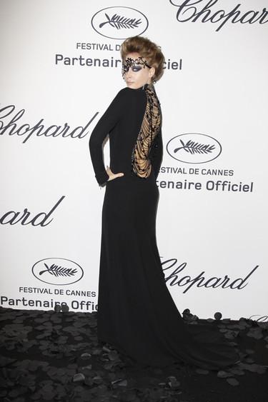 Las modelos hacen suya la fiesta de Chopard en Cannes