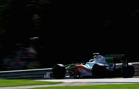 Increíble pole de Giancarlo Fisichella en el GP de Bélgica