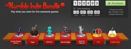 The Humble Indie Bundle 3, tremendo exitazo en ventas. ¡Corred a por uno!