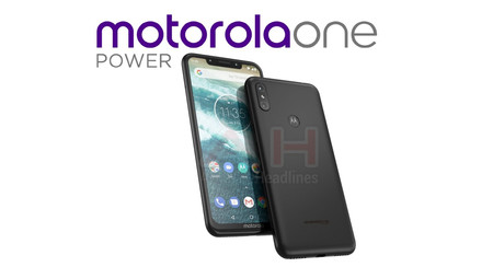 Motorola One Power: filtrado un nuevo smartphone Android One y diseño con notch