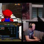 Más difícil todavía: se pasa tres juegos de N64 a la vez en menos de una hora
