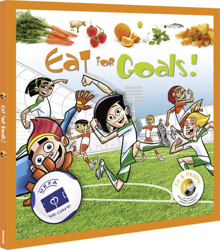 """Eat for Goals!"", los futbolistas enseñan una alimentación sana"