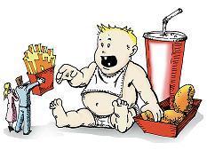 Menos esperanza de vida en los niños obesos