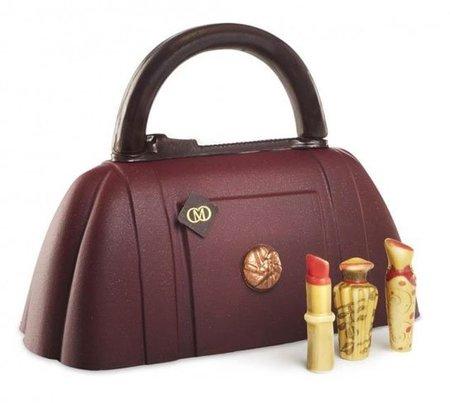 """El Chocobag de Catherine Cluizel, el """"it bag"""" de chocolate selecto"""