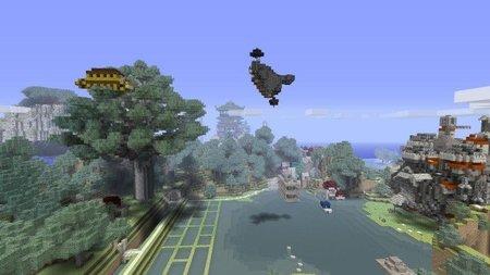 El Estudio Ghibli a través de los ojos cuadriculados de 'Minecraft'