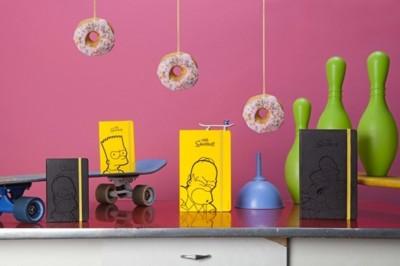 La edición limitada más divertida de Moleskine está inspirada en los Simpsons