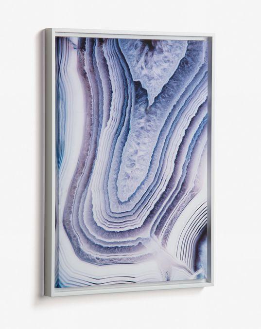 Cuadro Whish 50 x 70 cm lila