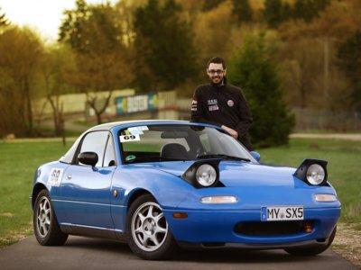 Nuestro amigo Serxio y su impresionante vuelta a Nürburgring en su Mazda MX-5 NA en 8:37.7