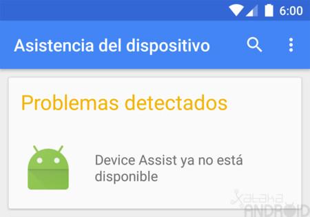 Google cierra la aplicación Asistencia del dispositivo que lanzó para sus Nexus y Android One