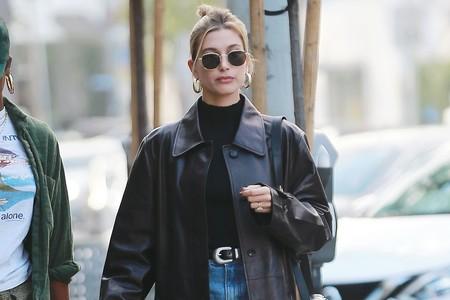 Las chaquetas oversize se convierten en la prenda favorita de las modelos del momento