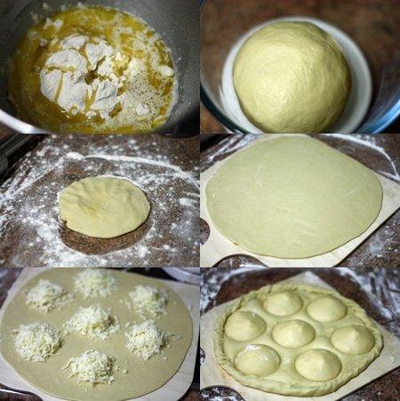 Elaboración de la focaccia de queso