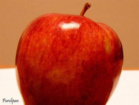 calorias de una manzana amarilla