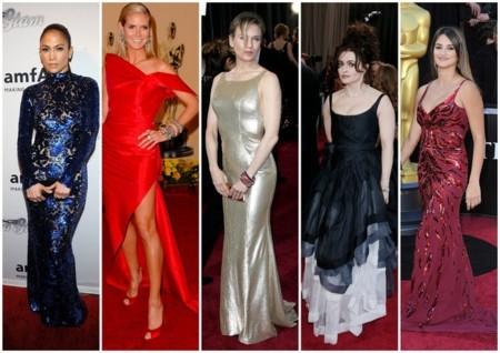 nominadas peor vestidas