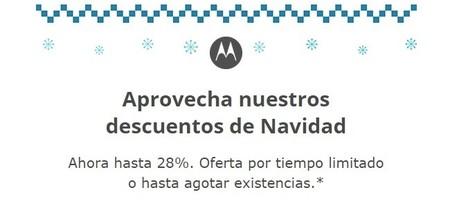 Motorola nos consiente trayendo ofertas navideñas y el Nexus 6 a México