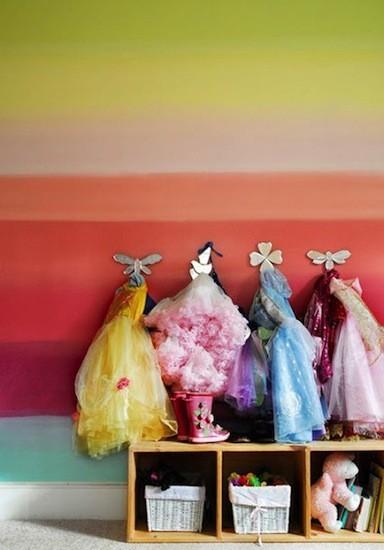 Una buena idea para organizar los disfraces de los peques