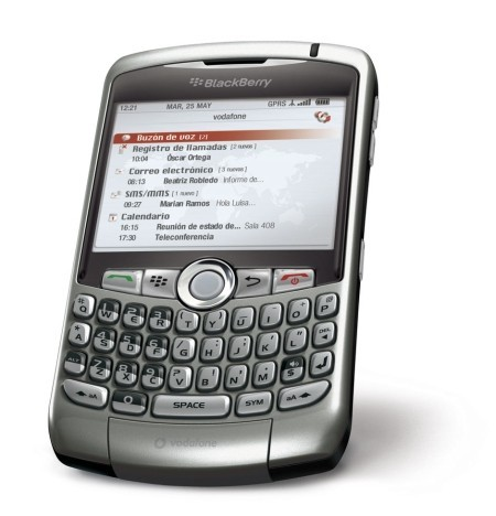 Blackberry Curve 8310 ya en España