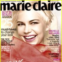 Michelle Williams, chica de portada en Marie Claire
