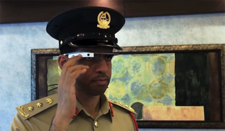 Google Glass, un accesorio que ya tienen en la policía de Dubai