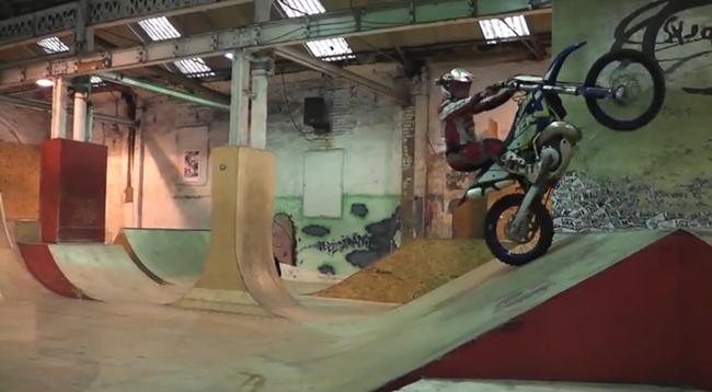 Graham Jarvis en un Skate Park