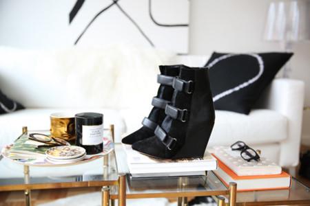 Botines velcro y cuña Scarlet de Isabel Marant Fashion Squad